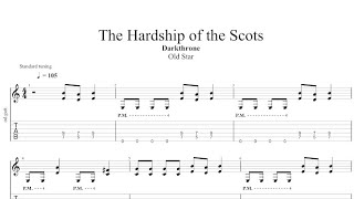 Darkthrone   The Hardship Of The Scots Guitar Cover With Tabs