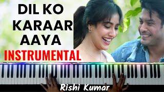 Dil Ko Karaar Aaya Piano Instrumental   Karaoke   Neha Kakkar   Chords   Hindi Song Keyboard Cover