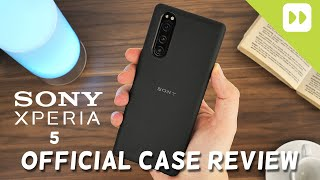 Official Sony Xperia 5 Style Cover Case Review