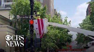 "Washington D.C. mayor has ""Black Lives Matter"" painted on street near White House"