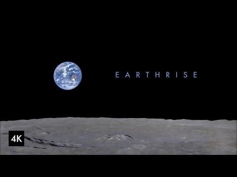Earthrise video from Kaguya