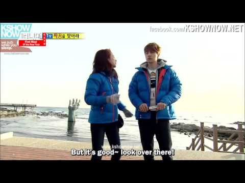 Lee Dong Wook and Song Ji Hyo running man ep 179 - Youtube