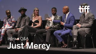 JUST MERCY Cast and Crew Q&A | TIFF 2019
