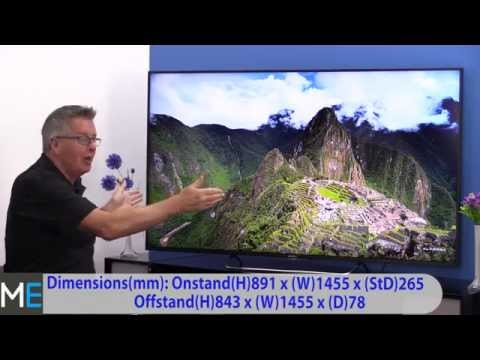 Sony W85 Series KDL65W855CB 3D LED Television