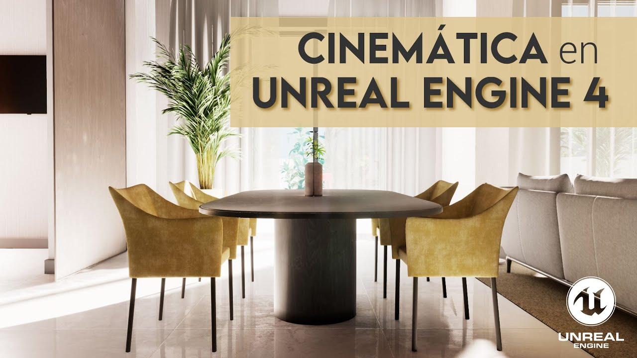 Cinemática y Animación de Cámara | Unreal Engine 4 - Tutorial de Iván Gómez Garillete
