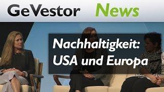 Erfolgsfaktor Nachhaltigkeit – was unterscheidet USA und Europa?