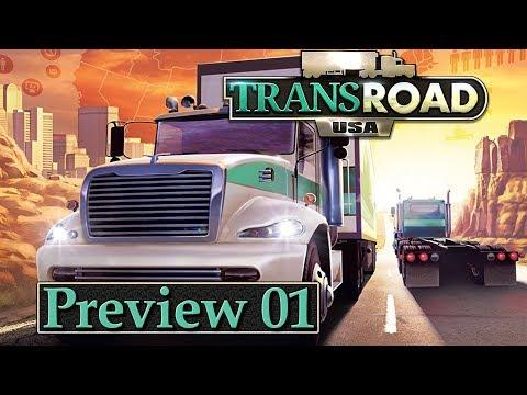 TRANSROAD USA 🚚 Preview Gameplay & Interview #1 ► LKW Logistik Wirtschaft Simulation deutsch german
