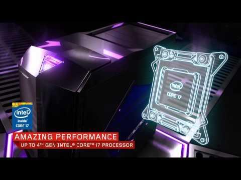 Lenovo Erazer X510 desktop tour