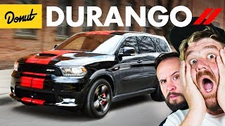 DODGE DURANGO - Everything You Need To Know | Donut Media