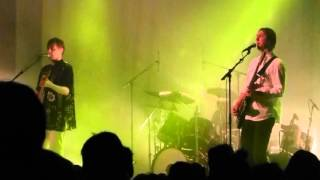 "DJANGO DJANGO ""4000 YEARS"" @ BARROWLAND GLASGOW  2015"