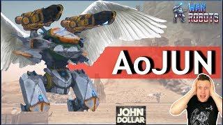 War Robots - Ao Jun!Летающая ИМБА в инвизе!