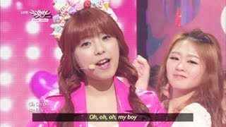 Juniel - Pretty Boy (2013.05.11) [Music Bank w/ Eng Lyrics]