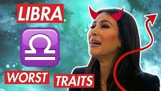 The DARK Side Of Libra Zodiac - Astrology Negative Personality Traits
