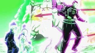 jojo part 4 openings but everytime stand apears, video gets affected by thier ability