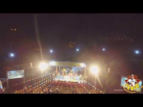 Favelacop sobrevoando a Festa Junina 2017 de Juquitiba ....Show do Placa 3