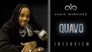The Angie Martinez Show - Quavo Talks Solo Album Release Date, Touring w/Drake + Making