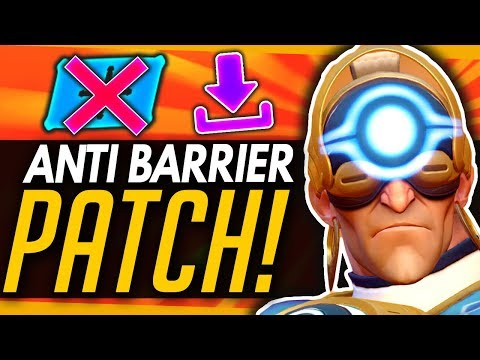 Overwatch | Massive ANTI-BARRIER Patch Tomorrow! - Buffs, Nerfs & Comparisons Summary