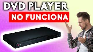 DVD LG no enciende Reparación y Tips