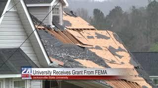 JSU Receives Grant from FEMA