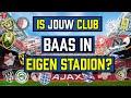 ONDERZOEK: Hoeveel Betaalt Jouw Club Voor Zijn Eigen Stadion?