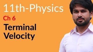 11th Class Physics, Ch 6 - Explain Terminal Velocity - FSc Physics Book 1
