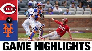 Reds vs. Mets Game Highlights (8/01/21) | MLB Cov ntsiab lus tseem ceeb