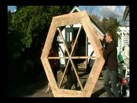 Πως να φτιάξετε ένα εξαγωνικό τραπέζι πικ νικ