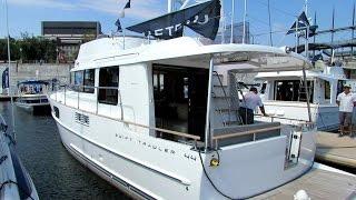2014 Beneteau Swift Trawler 34 Motor Yacht - Exterior&Interior Walkaround - 2014 Montreal Boat Show