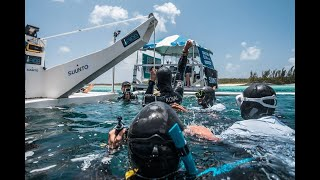 Breaking News! Daniel Koval becomes deepest freediver in America, setting the new CWT national recor