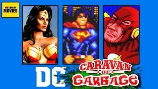 Best & Worst DC Comics Games -  Caravan Of Garbage