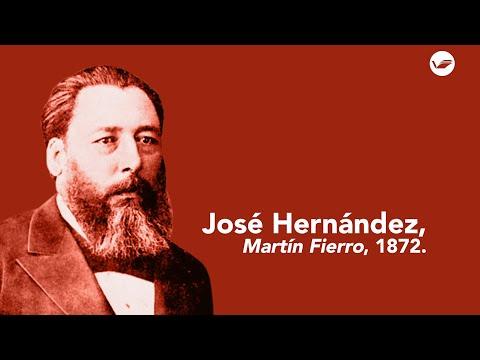 'Martín Fierro', de José Hernández