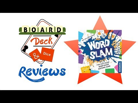 Board, Deck and Dice Review #117 - Word Slam
