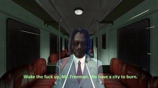 I put cyberpunk 2077 music over half life Trailer