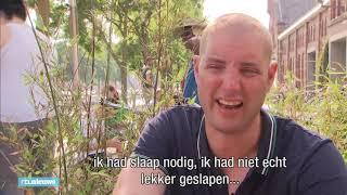 Schuurplekken en spierpijn: zo zwom Maarten zijn Elfstedentocht