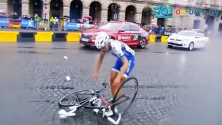 Велоспорт  Лучшие моменты   Эпические завалы