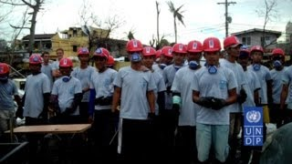 UNDP Launches Cash-for-Work Programme for Destroyed Communities in the Philippines