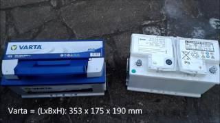 Batteriewechsel BMW 5er E60 - Upgrade von 80AH auf 95AH