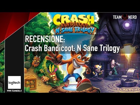 CRASH BANDICOOT: NSANE TRILOGY – RECENSIONE VERSIONE PC video thumbnail