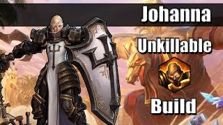 Heroes of the Storm 2.0 (Gameplay) Johanna Trait Build (Hots Johanna Gameplay Quickmatch)