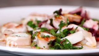 Preparing Squid At Home   Melissa Clark Cooking | The New York Times