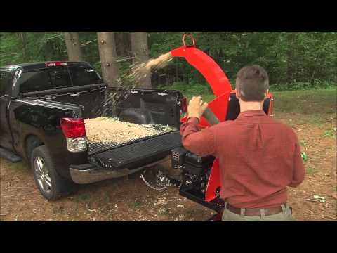 Product Video, Self-Feeding Wood Chipper 21.0 Electric Start
