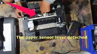 Epson L210 Paper Feed Problem