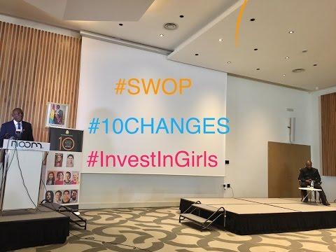 Mettre en avant les filles de dix ans. Lancement régional du rapport SWOP