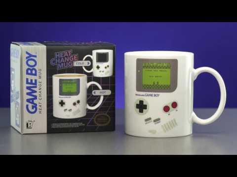 Kubek zmieniający kolor Nintendo - Game Boy