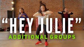 """Hey Julie!"" Additional Groups   @superduperkyle @lilyachty   @GuyGroove Choreography"