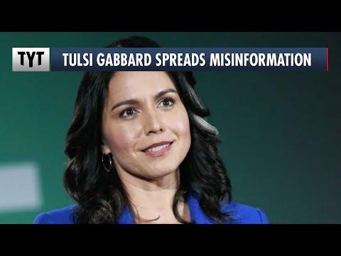 Grifter Gabbard Spreads Misinformation From Project Veritas