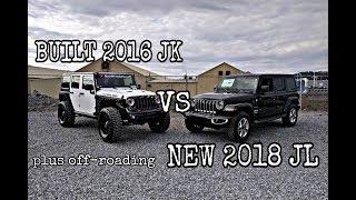 2018 JL VS Built JK Comparison!