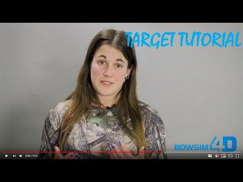 How big should a 4D Target be?