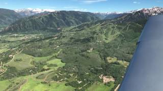 One of America's Most Dangerous Airports | Landing at Aspen | Cirrus SR22