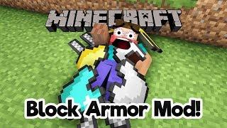minecraft block armor mod
